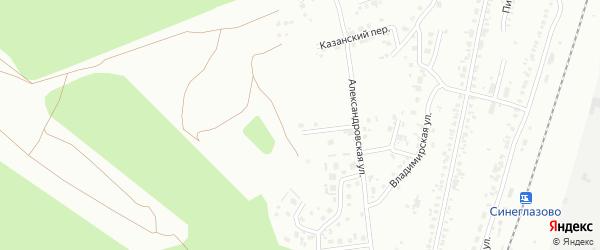 Территория ГСК Заречный участок 2 на карте Челябинска с номерами домов