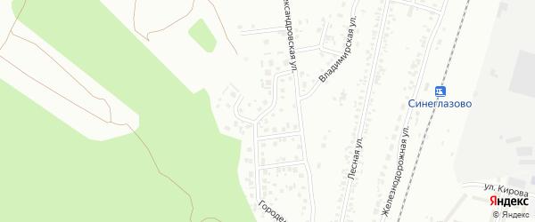 Платоновская улица на карте Челябинска с номерами домов
