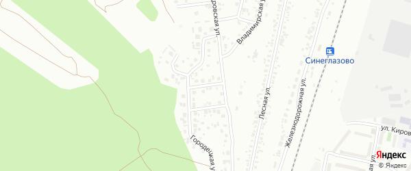 Никитская улица на карте Челябинска с номерами домов