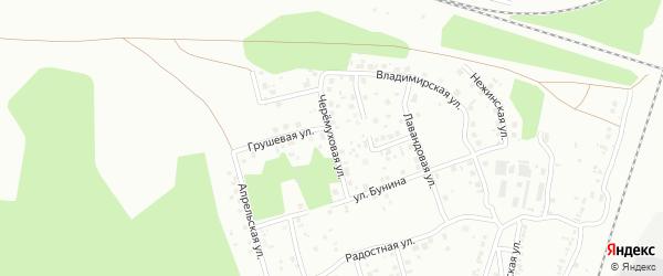 Черемуховая улица на карте Челябинска с номерами домов
