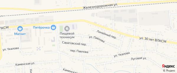 Улица Павлова на карте Коркино с номерами домов