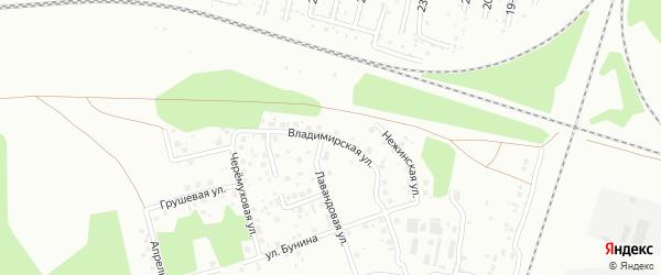 Улица Радужная (Новосинеглазово) на карте Челябинска с номерами домов