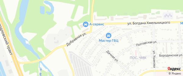 Тираспольская улица на карте Челябинска с номерами домов