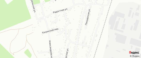 Улица Веселая (Шершни) на карте Челябинска с номерами домов