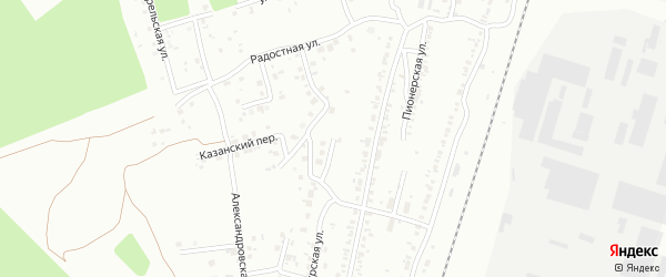 Улица Веселая (Новосинеглазово) на карте Челябинска с номерами домов