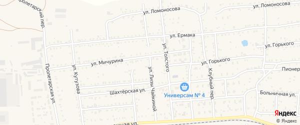 Улица Л.Чайкиной на карте Коркино с номерами домов