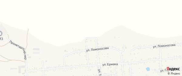 Северная улица на карте Коркино с номерами домов