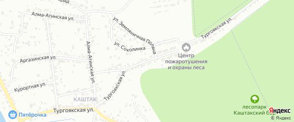 Тургоякская улица на карте Челябинска с номерами домов