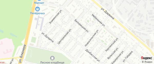 Национальная улица на карте Челябинска с номерами домов