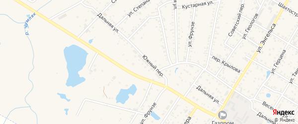 Дальняя улица на карте Коркино с номерами домов