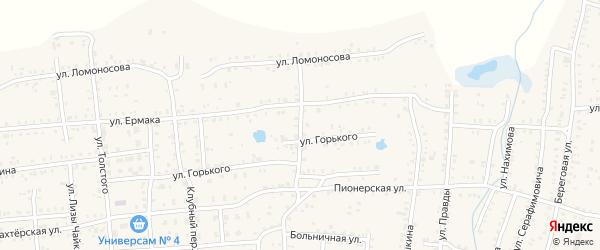 Улица Шевченко на карте Коркино с номерами домов
