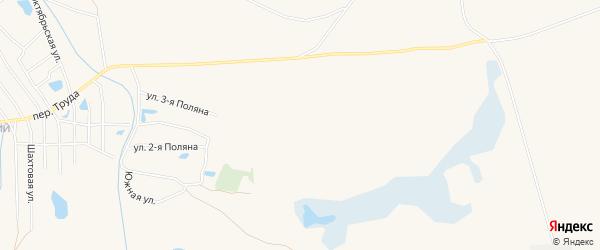 Сад Восход на карте Еманжелинска с номерами домов