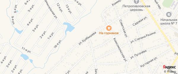 Улица Куйбышева на карте Коркино с номерами домов