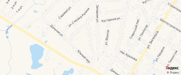 Улица З.Космодемьянской на карте Коркино с номерами домов