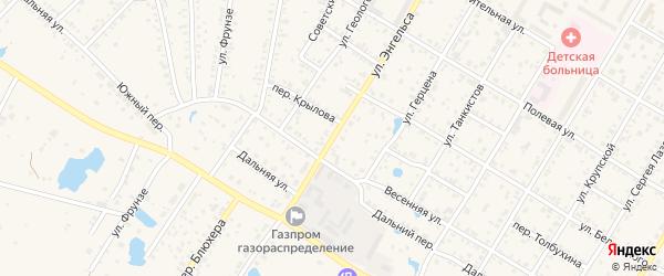 Улица Энгельса на карте Коркино с номерами домов
