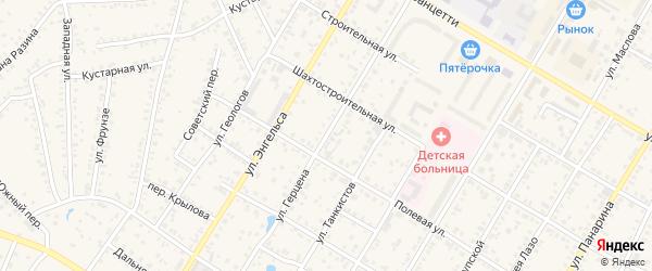 Улица Герцена на карте Коркино с номерами домов