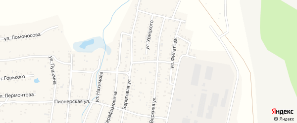 Улица Пархоменко на карте Коркино с номерами домов