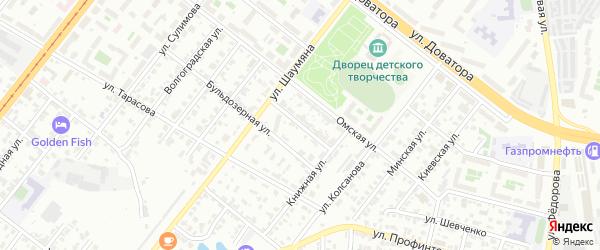 Грейдерная улица на карте Челябинска с номерами домов