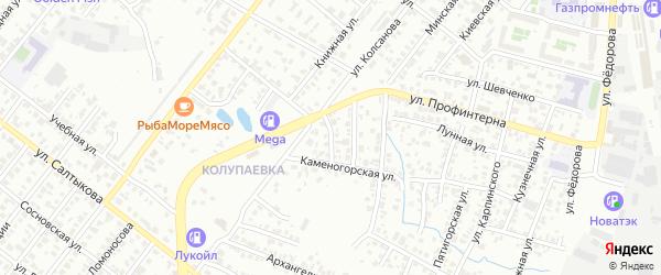 Табачная улица на карте Челябинска с номерами домов