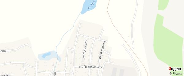 Волгоградская улица на карте Коркино с номерами домов