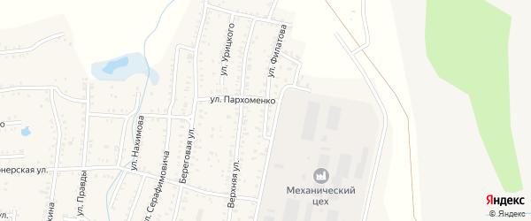 Улица Филатова на карте Коркино с номерами домов