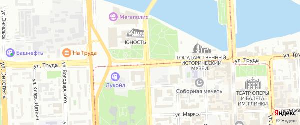 Улица Труда на карте Челябинска с номерами домов