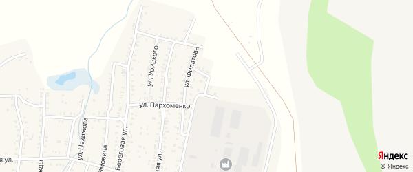 Улица П.Морозова на карте Коркино с номерами домов