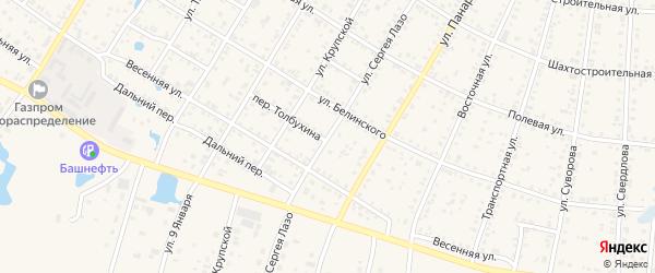 Улица С.Лазо на карте Коркино с номерами домов