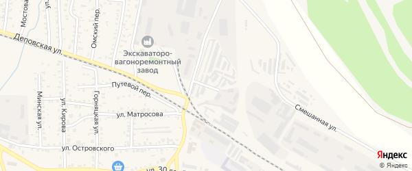 Улица Труда на карте Коркино с номерами домов