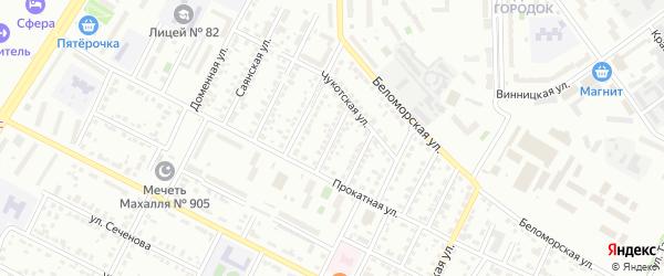 Улица Искусств на карте Челябинска с номерами домов