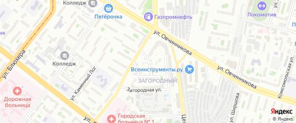 Литейная улица на карте Челябинска с номерами домов