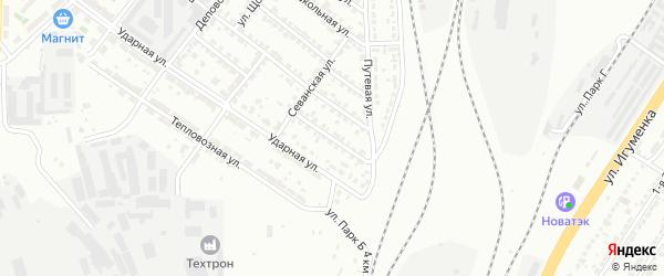 Улица Мичурина на карте Челябинска с номерами домов