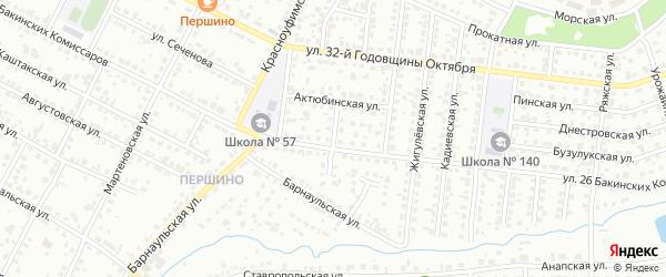 Переулок 26 Бакинских Комиссаров на карте Челябинска с номерами домов