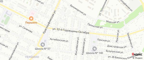 Павлоградская улица на карте Челябинска с номерами домов