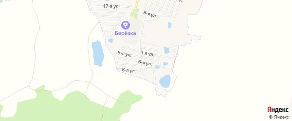 СТ Динамовец на карте Коркино с номерами домов