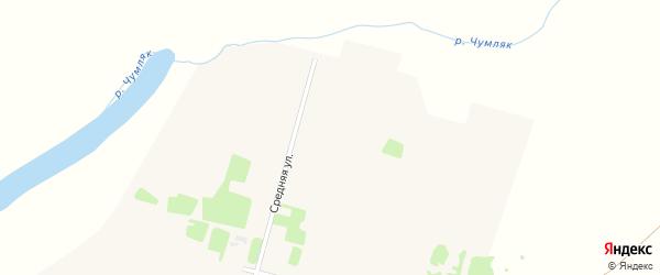 Низовая улица на карте Копейска с номерами домов