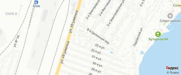 Приозерная улица на карте Челябинска с номерами домов