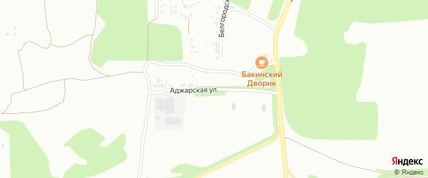 Аджарская улица на карте Челябинска с номерами домов