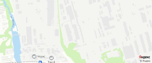 Территория ГСК Сплав участок 2 на карте Челябинска с номерами домов