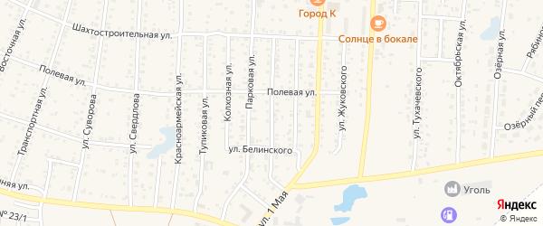 Улица Тимирязева на карте Коркино с номерами домов