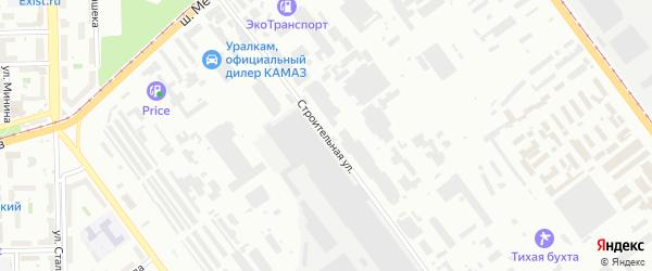 Улица Строителей на карте Челябинска с номерами домов