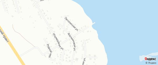 Летописная улица на карте Челябинска с номерами домов