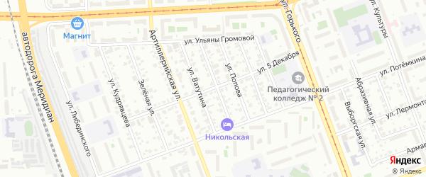 Улица 5 Декабря на карте Челябинска с номерами домов