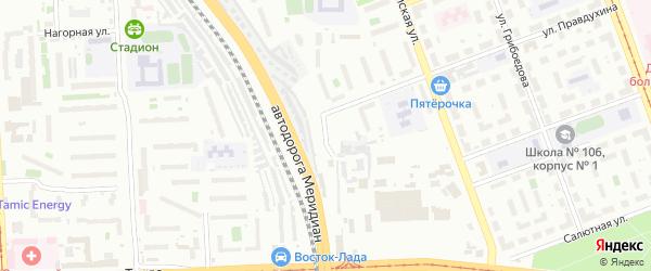 Улица Трампарк на карте Челябинска с номерами домов