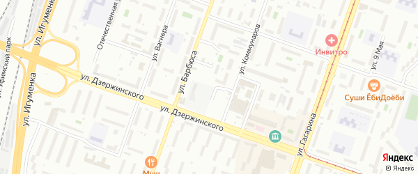 Копейская улица на карте Челябинска с номерами домов
