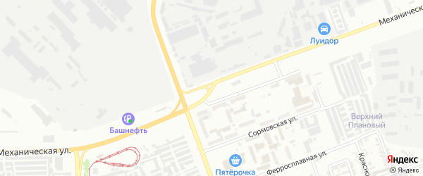 Механическая улица на карте Челябинска с номерами домов