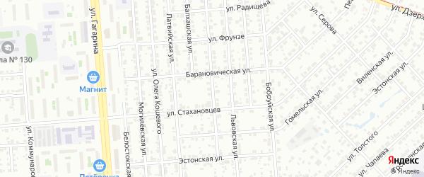 Карельская улица на карте Челябинска с номерами домов