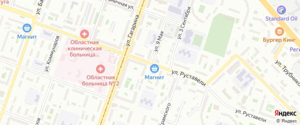 9 Мая улица на карте Челябинска с номерами домов