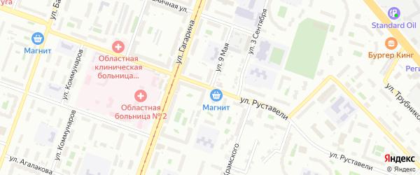 Сад Любитель-1 улица 9 на карте Челябинска с номерами домов