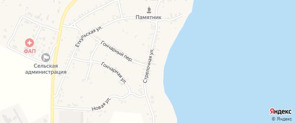 Стрелочная улица на карте поселка Бектыша с номерами домов